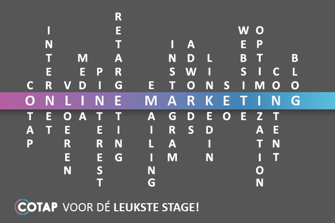Online marketing stagiair